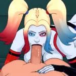 Harley Quinn w Arkham Asylum