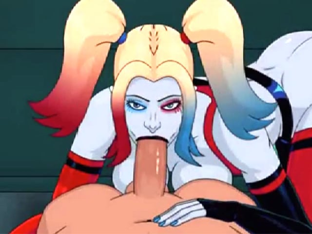 Harley Quinn à l'asile d'Arkham